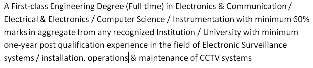 ecil hyderabad recruitment Technical Officer Qualification